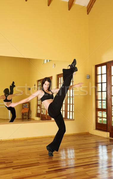 Сток-фото: танцовщицы · 26 · женщины · студию · женщину