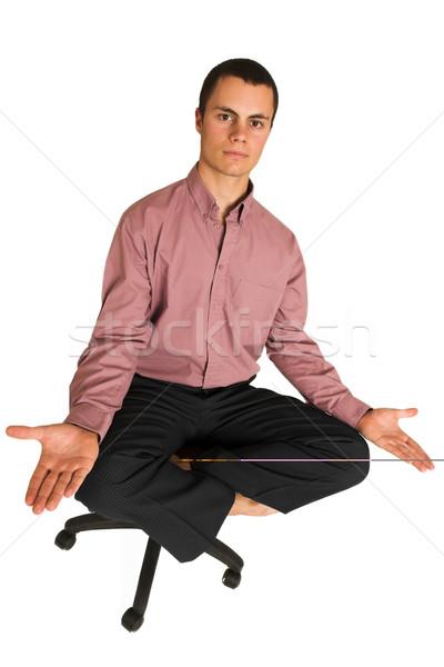 Business Yoga #188 Stock photo © Forgiss