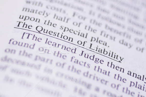 Legal Terms #1 Stock photo © Forgiss