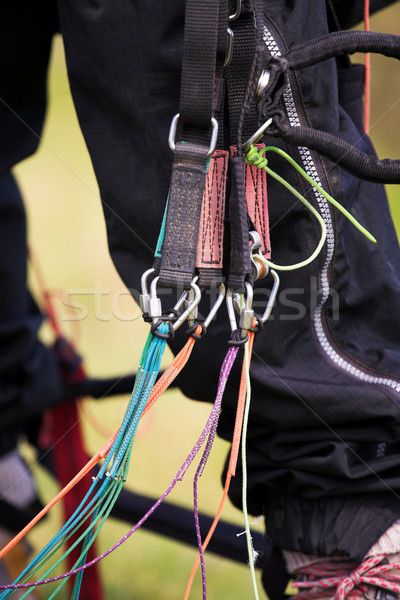 Paraglider harness Stock photo © Forgiss
