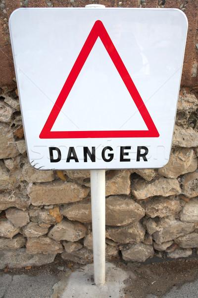 Danger Sign #02 Stock photo © Forgiss