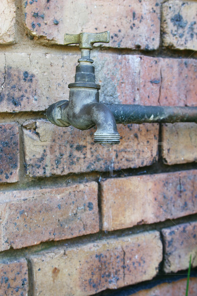 Old water tap Stock photo © Forgiss