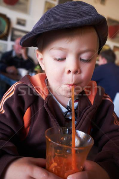 Stylish young boy Stock photo © forgiss