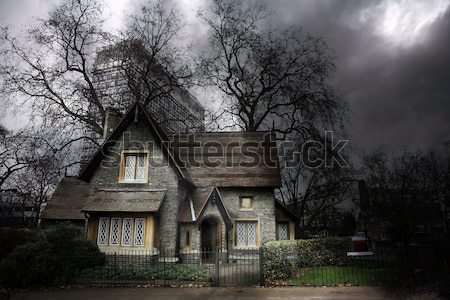 Haunted House #1 Stock photo © Forgiss