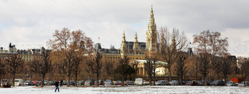 Viennese Landmarks Stock photo © Forgiss