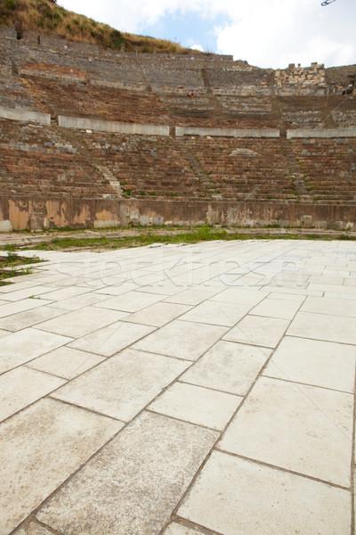 Turcja amfiteatr miasta nowoczesne dzień Zdjęcia stock © Forgiss