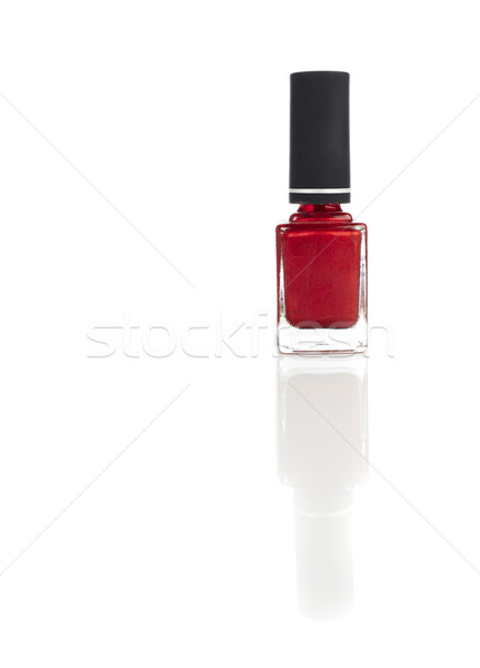 Red Nail Varnish Stock photo © forgiss