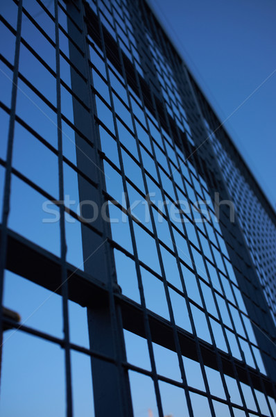 Welded fence Stock photo © Forgiss
