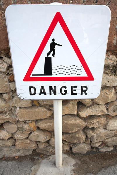 Danger Sign 01 Stock photo © Forgiss