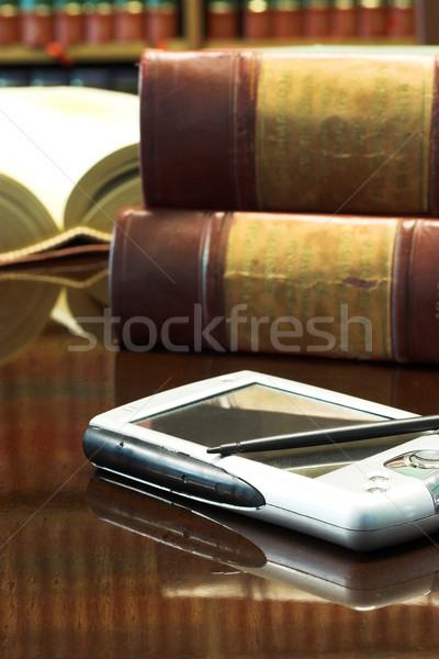 Photo stock: Juridiques · livres · table · afrique · du · sud · droit · rapports