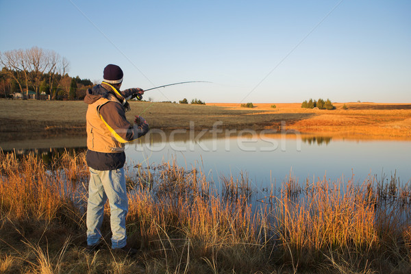 Flyfishing #19 Stock photo © Forgiss
