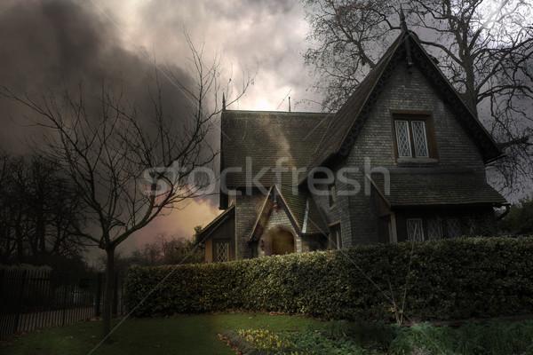 Haunted House #3 Stock photo © Forgiss