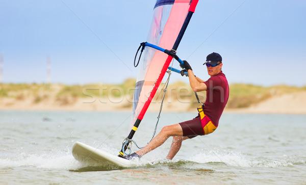 Windsurfer #27 Stock photo © Forgiss