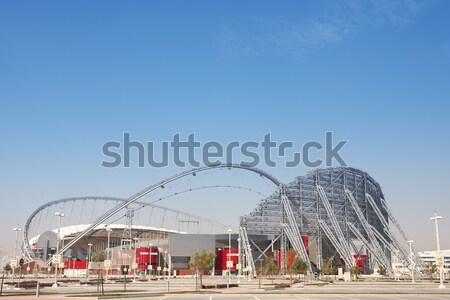 Khalifa Sports Stadium Stock photo © Forgiss