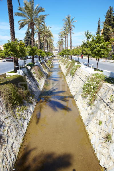 Water canal Stock photo © Forgiss
