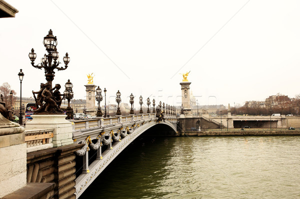 Paris #3 Stock photo © Forgiss