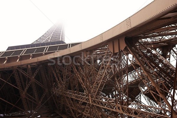 Paryż 14 Wieża Eiffla Francja kopia przestrzeń wieża Zdjęcia stock © Forgiss