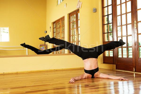 Сток-фото: танцовщицы · женщины · студию · женщину · девушки