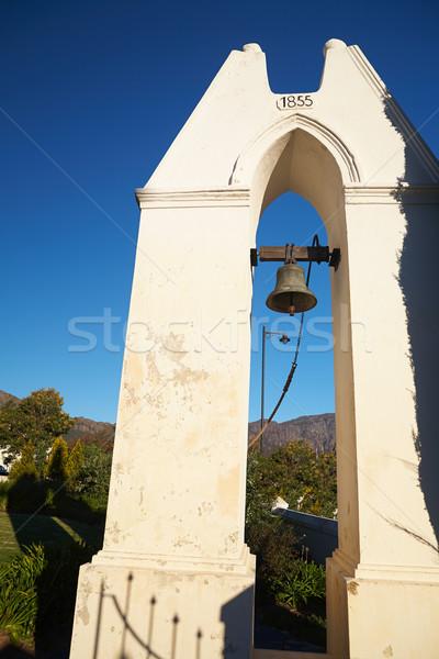 Esclavo campana edad local iglesia Foto stock © Forgiss