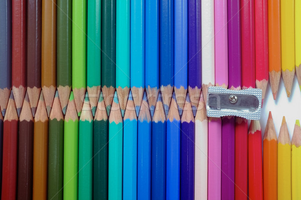 Coloured Pencils Stock photo © Forgiss