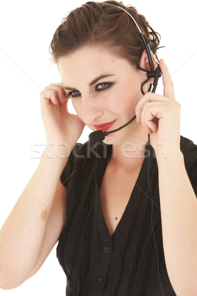 Adult Caucasian businesswoman Stock photo © Forgiss