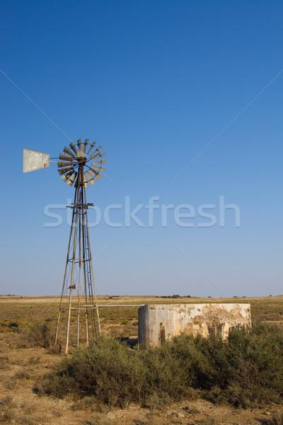 Cape windpump #1 Stock photo © Forgiss