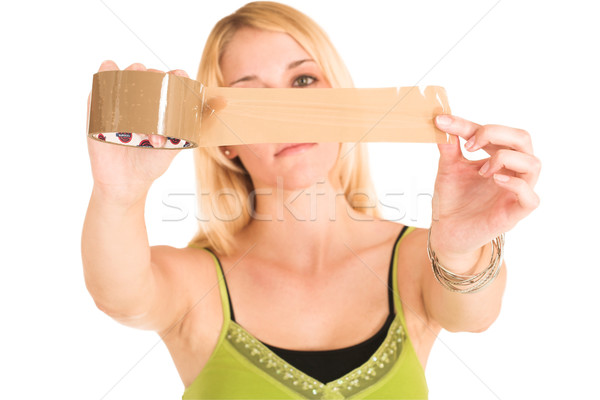 Businesswoman #456 Stock photo © Forgiss