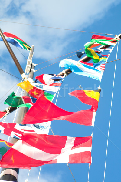 Flags of the world Stock photo © Forgiss