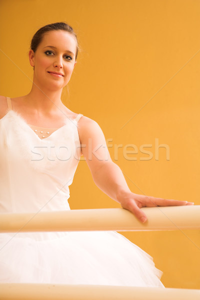 10 piedi balletto bar donna ragazza Foto d'archivio © Forgiss