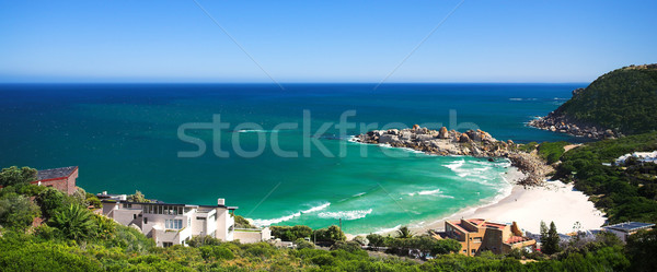 Llandudno beach in a secluded cove Stock photo © Forgiss