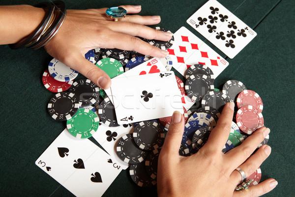 Card gambling Stock photo © Forgiss