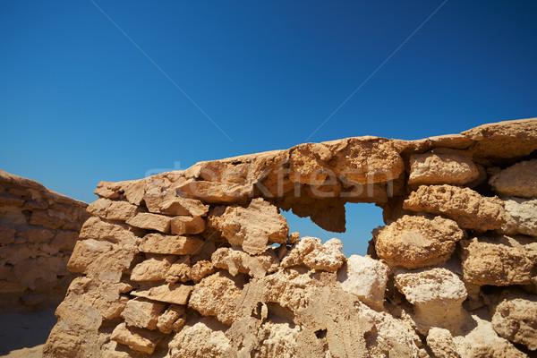 Ruins in Desert Stock photo © forgiss