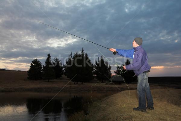 Flyfishing #28 Stock photo © Forgiss