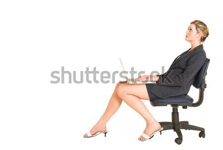 ビジネス ヨガ ビジネスマン 緊張 リラックス ストックフォト © Forgiss