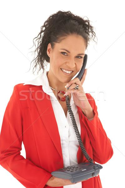 Beautiful Caucasian businesswoman Stock photo © Forgiss
