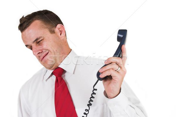 ストックフォト: ビジネスマン · ビジネスマン · ビジネス · 電話 · 男 · スーツ