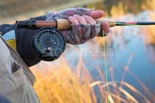 Flyfishing #20 Stock photo © Forgiss