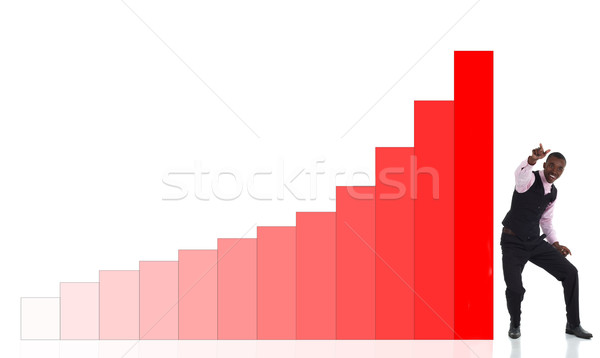 Business graph Stock photo © Forgiss