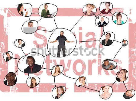 Social Networks Stock photo © Forgiss