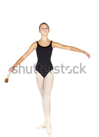 Ballet étapes jeunes ballerine fille Photo stock © Forgiss