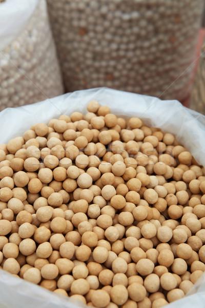 Orange soya beans Stock photo © Forgiss
