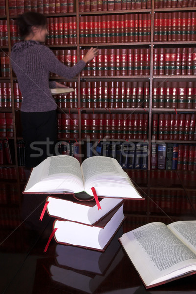 Prawnych książek 25 tabeli prawa Zdjęcia stock © Forgiss