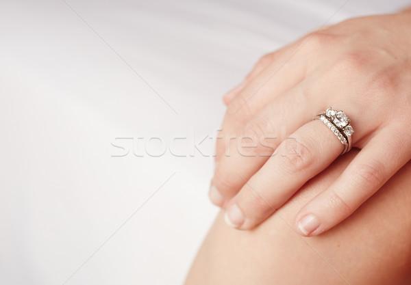 engagement ring Stock photo © Forgiss
