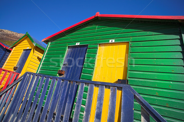 Plaj pansuman odalar sörfçü köşe Stok fotoğraf © Forgiss