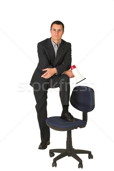 Businessman #255 Stock photo © Forgiss