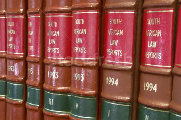 правовой книгах библиотека книжный шкаф Сток-фото © Forgiss