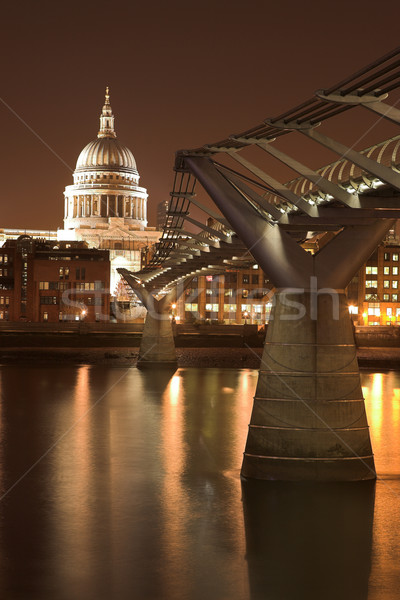 Millenium Bridge #1 Stock photo © Forgiss