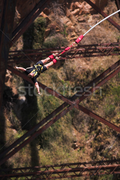 Bungee jumper #3 Stock photo © Forgiss
