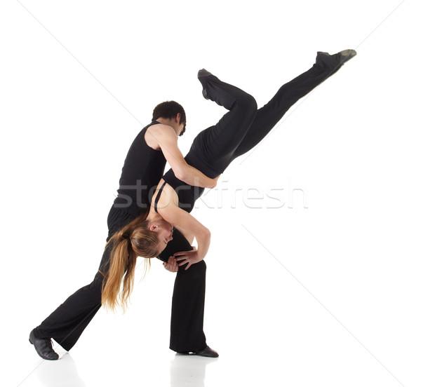 Modernes jazz danseur jeunes noir Photo stock © Forgiss