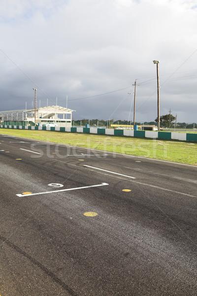 Starting grid for racetrack Stock photo © Forgiss